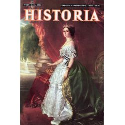 Historia n° 134 - L'attentat d'Orsini - Couverture : L'Impératrice Eugénie, par Winterhalter