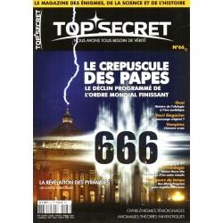 Top Secret n° 66 - Le Crépuscule des Papes, le déclin programmé de l'ordre mondial finissant