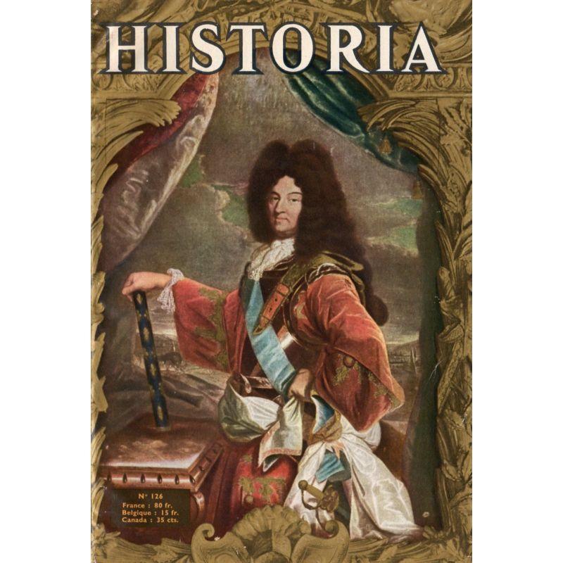 Historia n° 126 - La Marquise de Montespan - Couv. : Louis XIV, par Rigaud