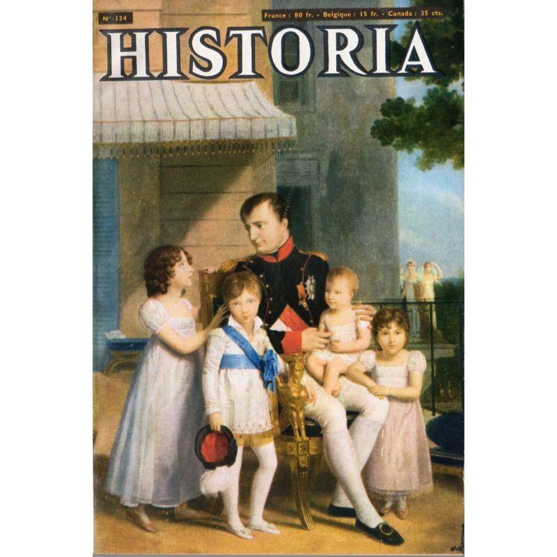 Historia n° 124 - Il y a 40 ans le régime tsariste s'effondrait - Couv. : Napoléon et la famille Murat