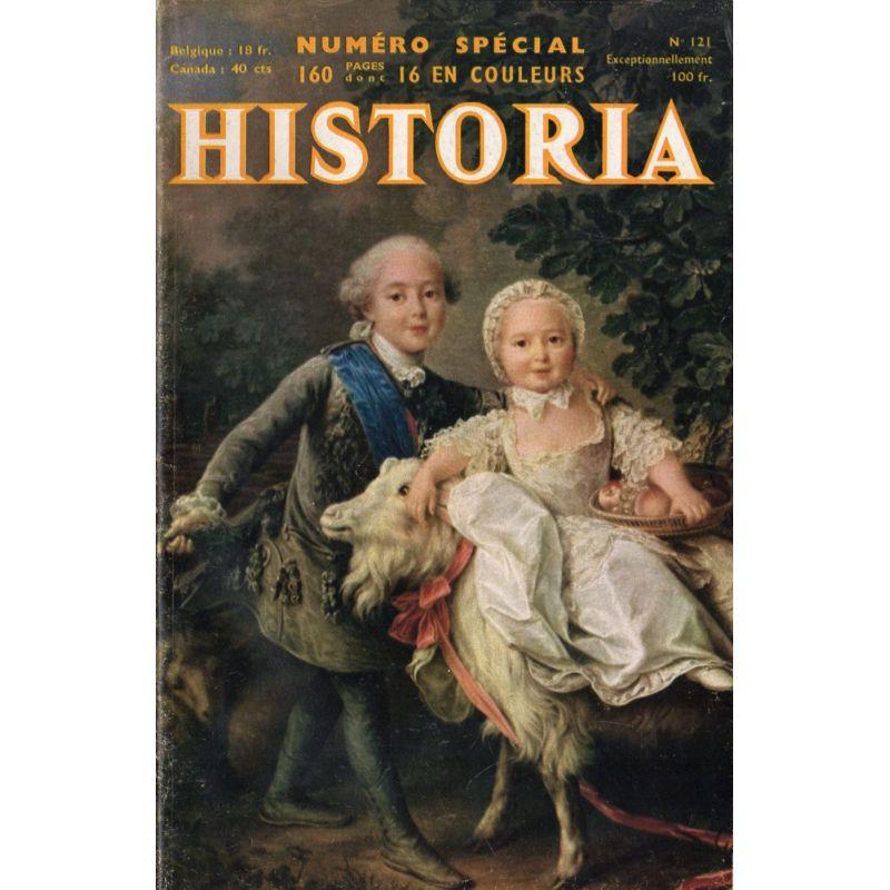Historia n° 121 - Numéro spécial : Mon abdication (Duc de Windsor) - Couv. : Charles-Philippe de France