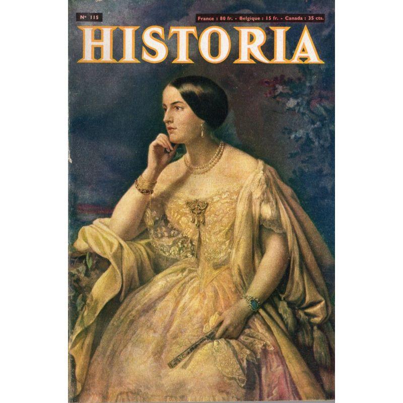 Historia n° 115 - L'héroïque défense du sort de Vaux - Couv. Portrait d'Élisabeth-Ann Haryett