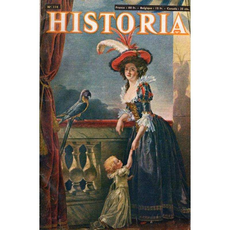 Historia n° 114 - Comment est née la république italienne - Couv. Mme Infante, duchesse de Parme (1788)
