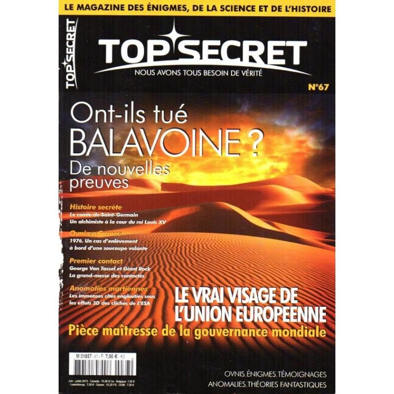Top Secret n° 67 - Ont-ils tué Balavoine ?