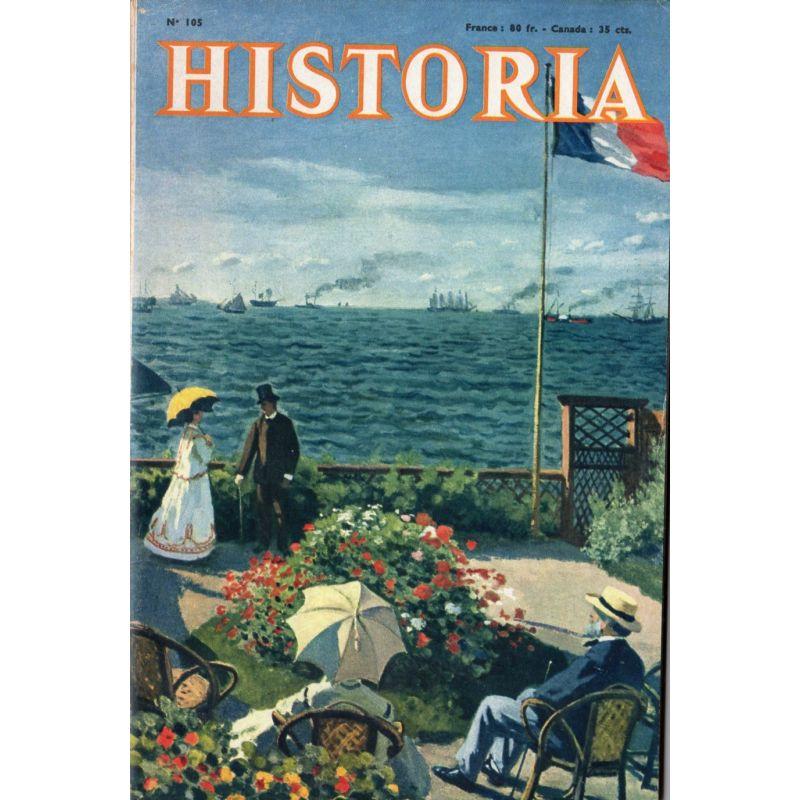 Historia n° 105 - Il y a 100 ans : la reine Victoria à Paris - La Terrasse au bord de la mer près du Havre, par Monnet