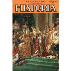 Lisez-moi Historia n° 97 - Le 150è anniversaire du Sacre : la journée du sacre - Couv. Le sacre de Napoléon