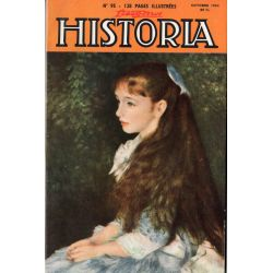 Lisez-moi Historia n° 95 - Quand les V1 tombaient sur l'Angleterre - Couv. : Portrait d'une jeune fille par Renoir