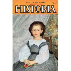 Lisez-moi Historia n° 91 - Il y dix ans, la libération de l'Europe commençait - Couv. Portrait de petite fille par Renoir