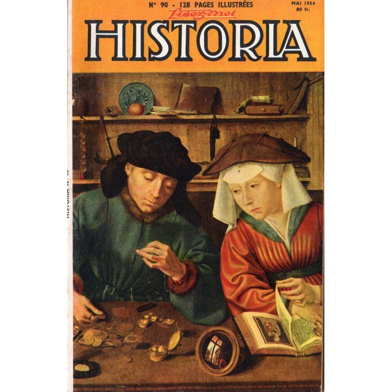 Lisez-moi Historia n° 90 - Il y a dix ans : Montecassino - Couv. : Le prêteur et sa femme par Quentin Metsys