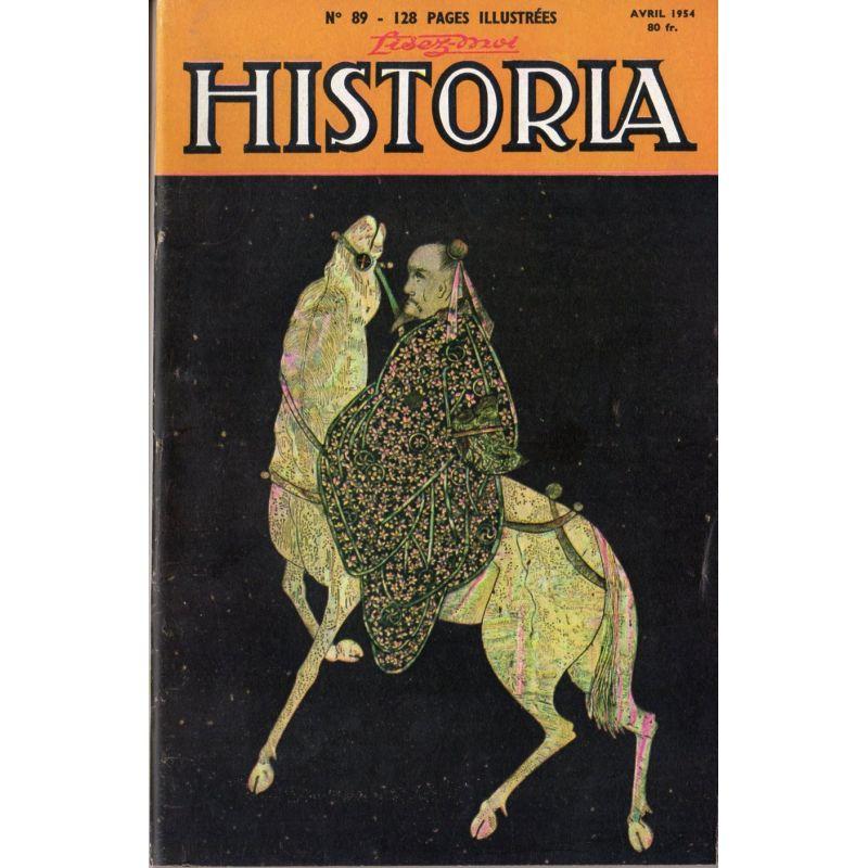 Lisez-moi Historia n° 89 - Les volontaires de la mort - Couv. : Écritoire du XVIIe siècle