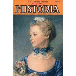 Lisez-moi Historia n° 88 - Pourquoi Hitler n'as pas débarqué en Angleterre - Couv. Portrait de Mlle Huquier
