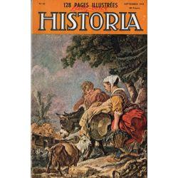 Lisez-moi Historia n° 82 - Il y a dix ans, comment j'ai délivré Mussolini - Couv. : Le retour du marché, par François Boucher