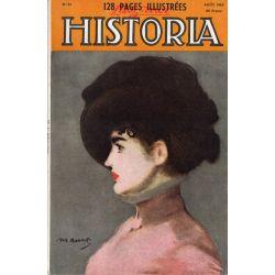 Lisez-moi Historia n° 81 - Il y a dix ans : le débarquement en Sicile - Couv. Irma Brunner, Pastel de Manet