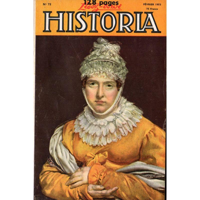 Lisez-moi Historia n° 75 - La bataille du Mont Cassin - Couverture : Madame Récamier, par Gros