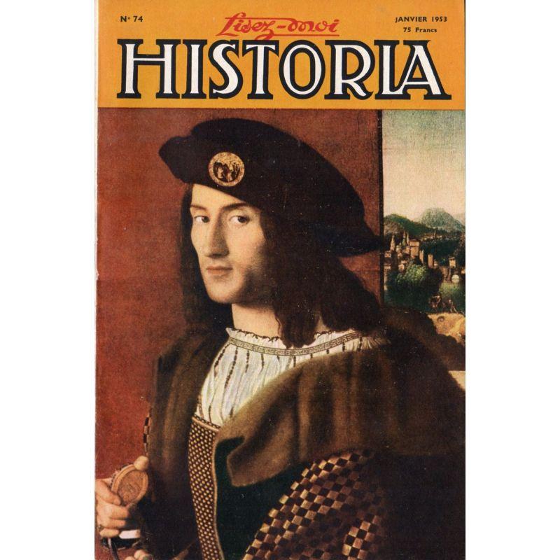 Lisez-moi Historia n° 74 - Le souvenir du maréchal de Lattre - Couv. : Portrait d'un Gentilhomme, par Bartolomeo Veneto