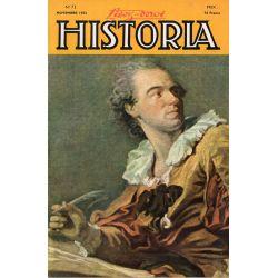 Lisez-moi Historia n° 72 - Le sabordage de la flotte à Toulon. Couv. : L'inspiration par Fragonard