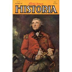 Lisez-moi Historia n° 71 - Mission secrète en Afrique - Couv : Lord Heathfield, Gouverneur de Gibraltar