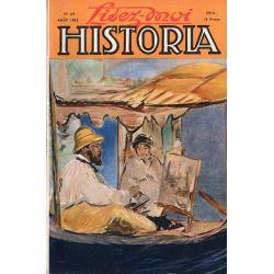 Lisez-moi Historia n° 69 - La libération de Paris - Couv. Claude Monet dans son atelier