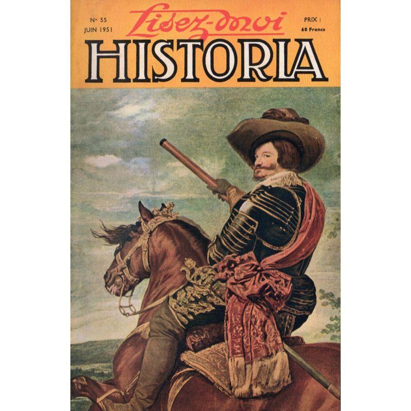Lisez-moi Historia n° 55 - La journée de l'impératrice Joséphine - Couv: Don Gaspar de Guzman, par Velasquez