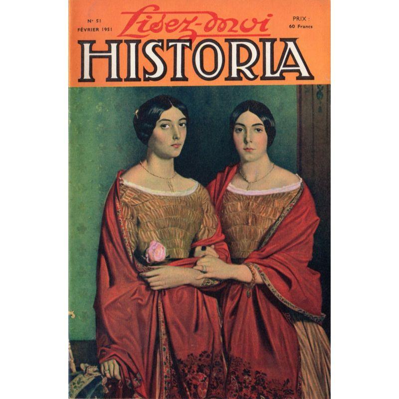 Lisez-moi Historia n° 51 - La conférence de Yalta - Couv : Les deux sœurs,  par Chassérias