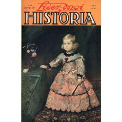 Lisez-moi Historia n° 50 - Mort d'un héros : le général Frère - Couv. : L'infante Marguerite-Thérèse, par Vélasquez