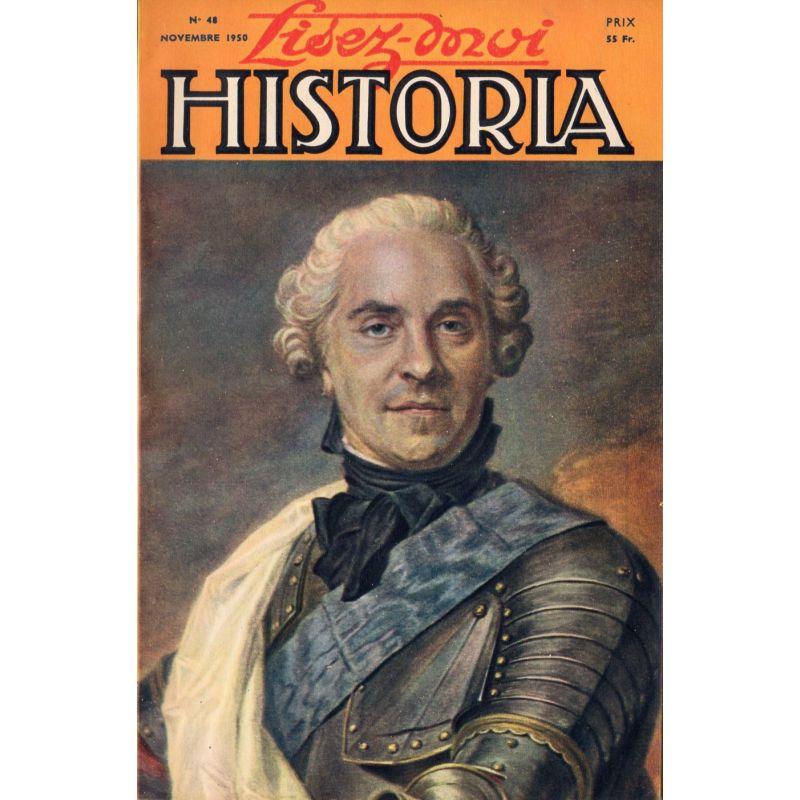 Lisez-moi Historia n° 48 - L'étoile de Leclerc - Couv : Le maréchal de Saxe, par Quentin de La TOur