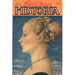 Lisez-moi Historia n° 44 - Dix-huit mois chez Mussolini - Couv : Portrait de femme, par Antonio Pollaiuolo