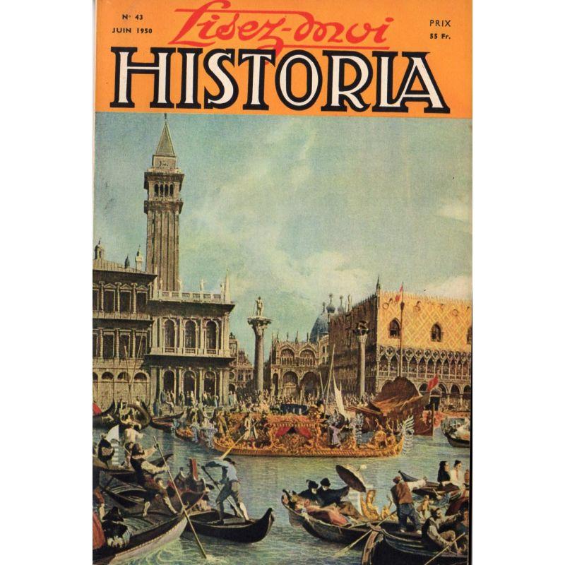 Lisez-moi Historia n° 43 - Mon pèlerinage à Sainte-Hélène - Couv. : Les Épousailles de la Mer, par Canaletto