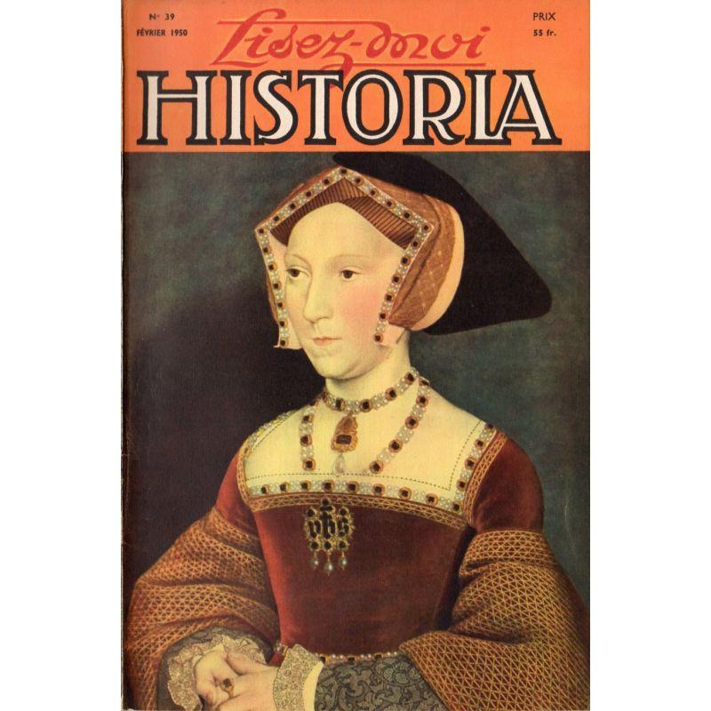 Lisez-moi Historia n° 39 - Les adieux de Fontainebleau - Couv : Jane Seymour, par Holbein