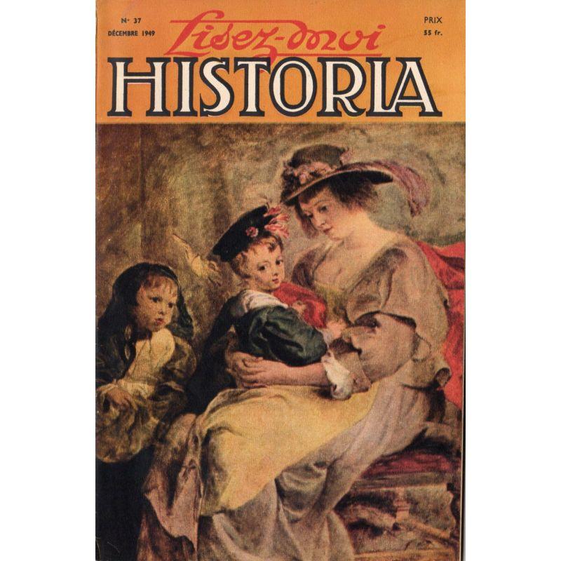 Lisez-moi Historia n° 37 -  La mystérieuse baronne de Feuchères - Couv : Hélène Fourment et ses enfants, par Rubens
