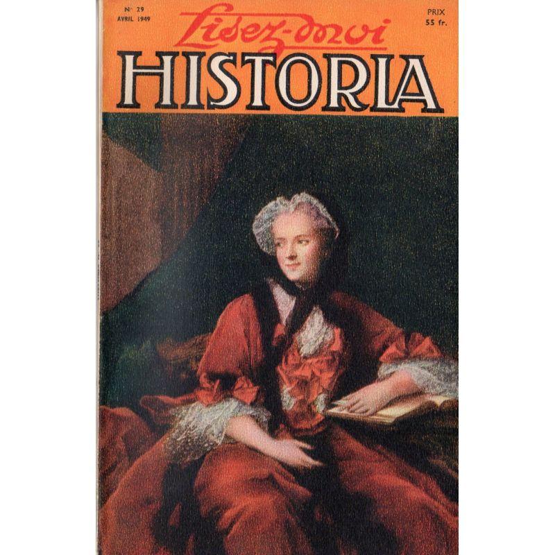 Lisez-moi Historia n° 29 - Un bicentenaire : Orages de Mirabeau - Couv : La Reine Marie Leczinska, par Nattier