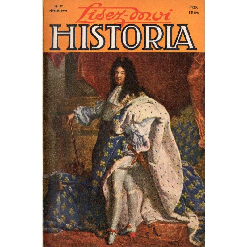 Lisez-moi Historia n° 27 - Les dernières années de Fouché - Couv : Louis XIV, par Rigaud