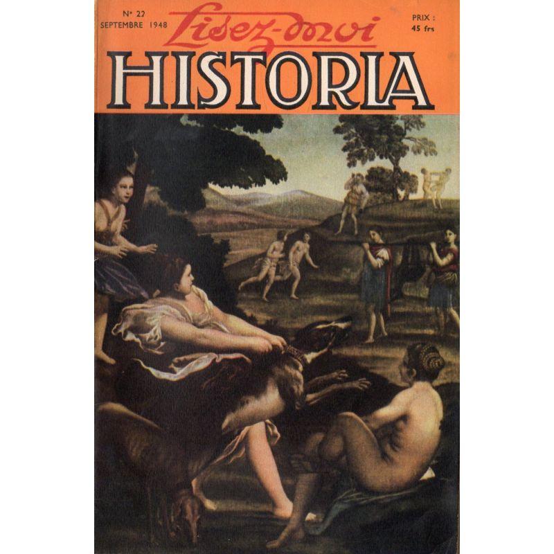 Lisez-moi Historia n° 22 - L'aigle des Andes  - Couverture : Diane Chasseresse