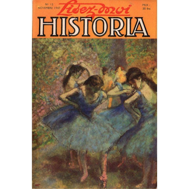 Lisez-moi Historia n° 12 - Souvenirs sur le 11 novembre - Couv : Danseuses en bleu, peinture de Degas