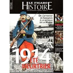 Figaro Histoire n° 15 - 1914, l'Eté Meurtrier