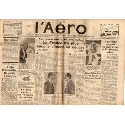 12 octobre 1934 - L'Aéro (14 pages)