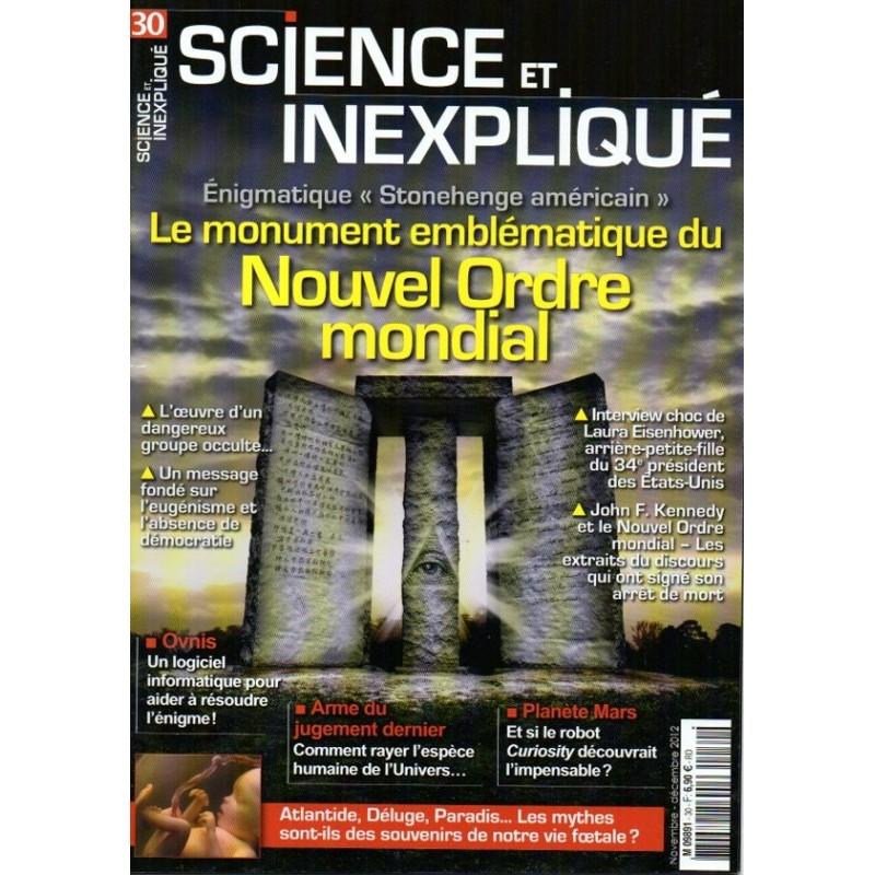 Science et Inexpliqué n° 30 - Le monument emblématique du Nouvel Ordre Mondial