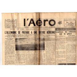 28 février 1936 - L'Aéro - L'Allemagne se prépare à une guerre aérienne