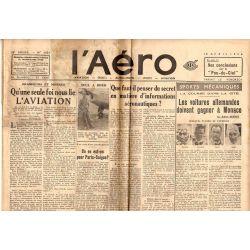 10 avril 1936 - L'Aéro - Que faut-il penser du secret en matière d'informations aéronautiques ?