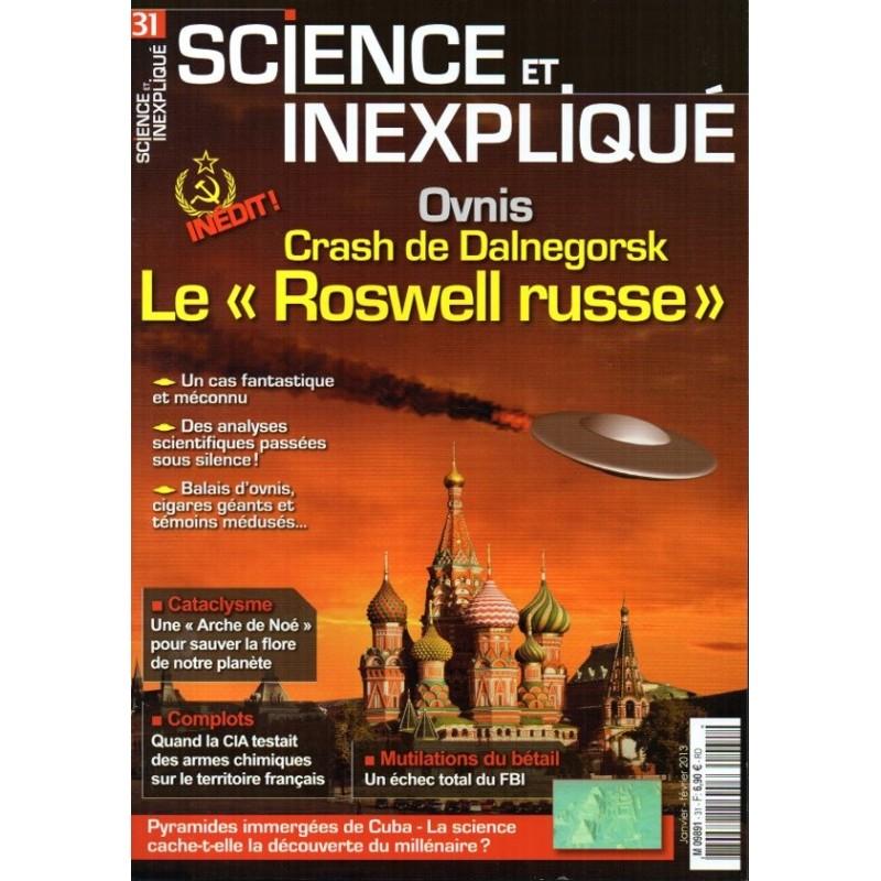 """Science et Inexpliqué n° 31 - Crash de Dalnegorsk,  le """"Roswell russe"""""""