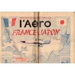 27 novembre 1936 - L'Aéro - Numéro spécial France Japon