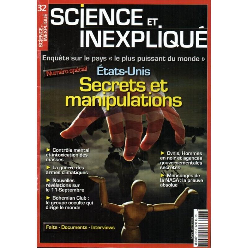 Science et Inexpliqué n° 32 - États-Unis : Secrets et manipulations