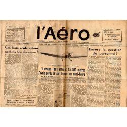9 juillet 1937 - L'Aéro - L'aviation britannique et le record mondial d'altitude