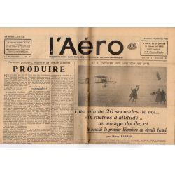 14 janvier 1938 - L'Aéro - 13 janvier 1908, une grande date