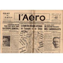 2 septembre 1938 - L'Aéro - La leçon des attaques aériennes en Espagne et en Chine