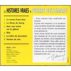 """Les Histoires vraies de Pierre Bellemare,  """"La lettre de Jérusalem"""" et 5 autres histoires"""