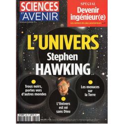 Sciences et Avenir n° 854 - L'univers selon Stephen Hawking