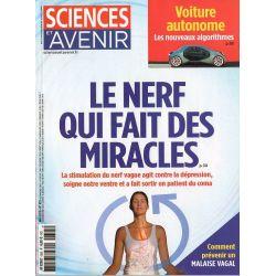 Sciences et Avenir n° 855 - Nerf vague : Le nerf qui fait des miracles