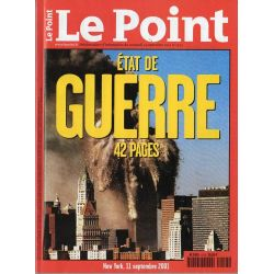 Le Point 1513 - 14 septembre 2001 - État de Guerre