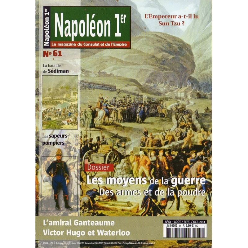 Napoléon Ier n° 61- Les moyens de la Guerre, Des armes et de la poudre